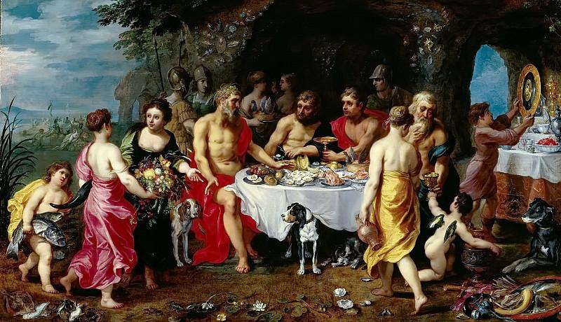 Feast of the Achelois. Jan Brueghel The Elder