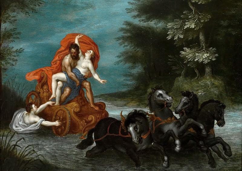 The Rape of Proserpina. Jan Brueghel The Elder