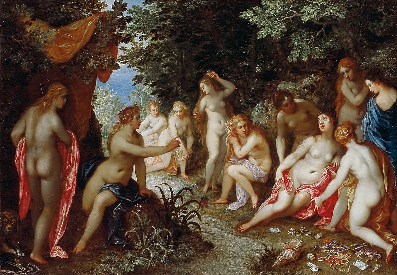Diana and Callisto. Jan Brueghel The Elder