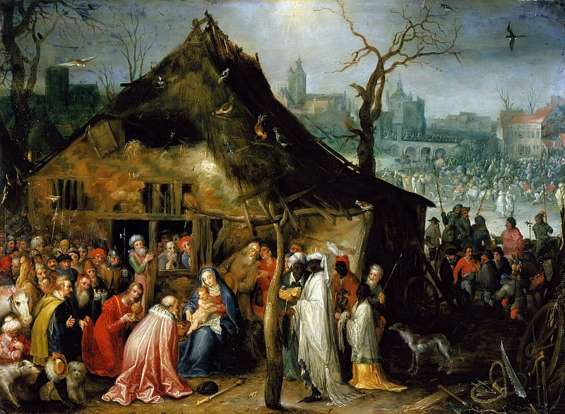 Adoration of the Magi. Jan Brueghel The Elder
