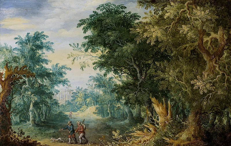 Forest landscape. Jan Brueghel The Elder
