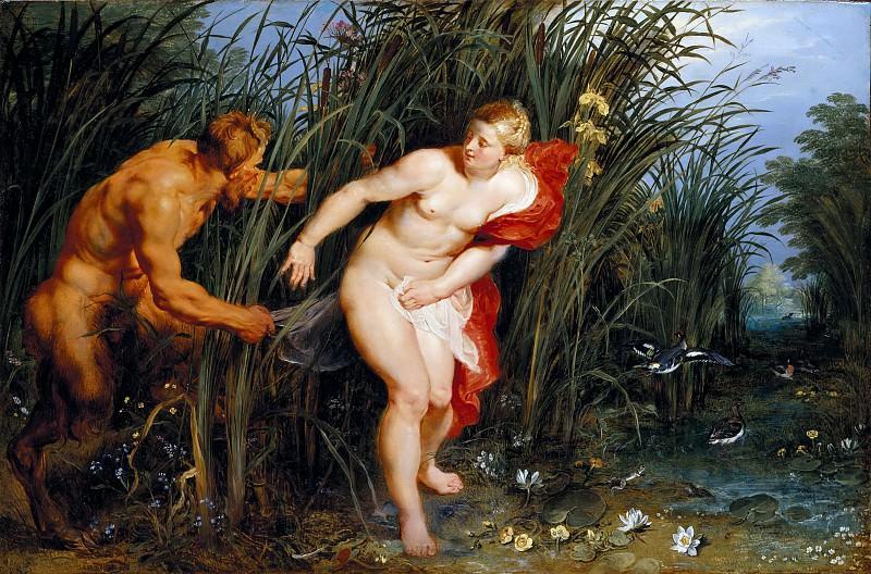 Pan and Syrinx. Jan Brueghel The Elder
