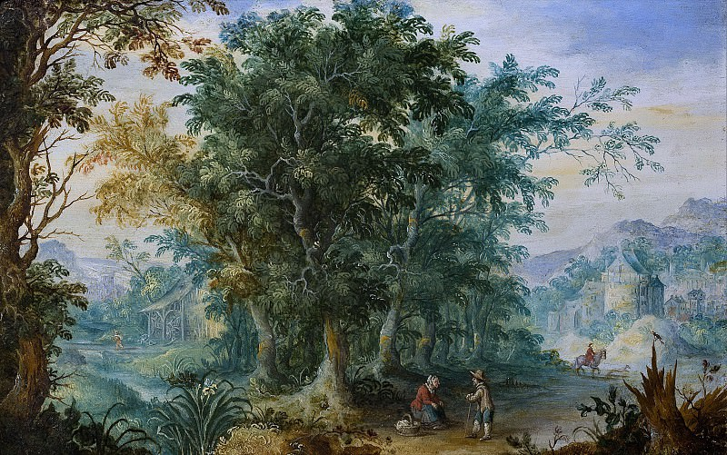 Forest landscape. Jan Brueghel The Elder