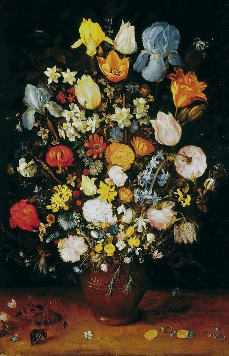 Vase with Flowers. Jan Brueghel The Elder