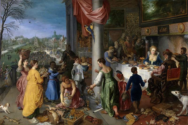 The Winter. Jan Brueghel The Elder