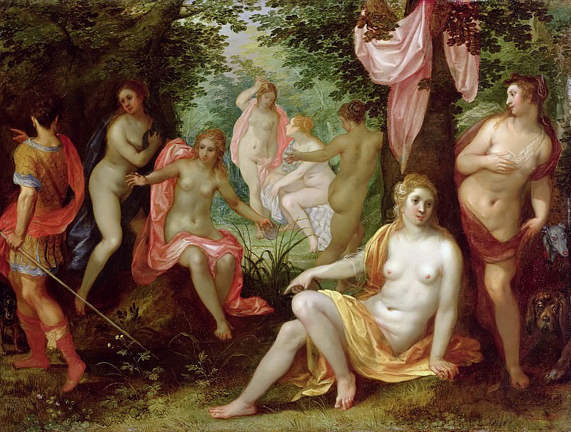 Diana and Acteon. Jan Brueghel The Elder