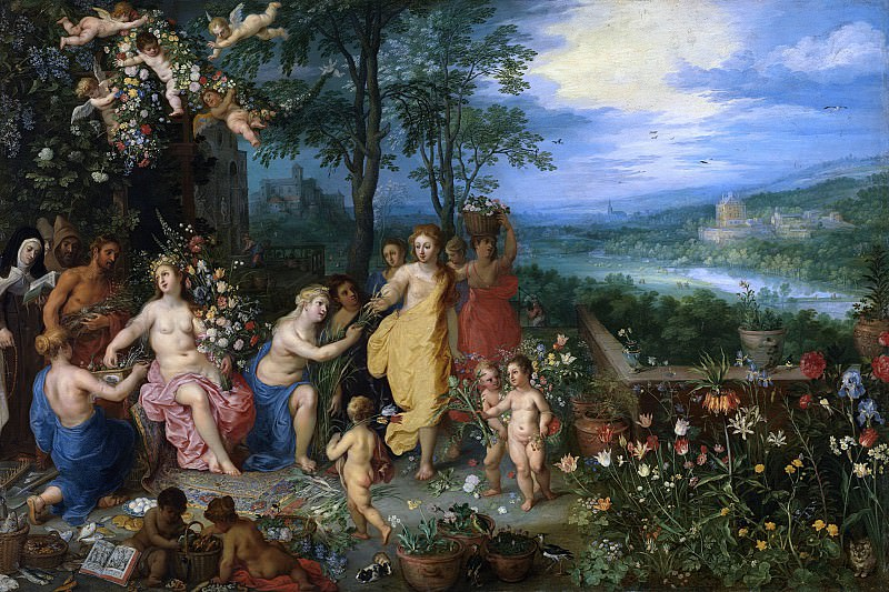 Spring. Jan Brueghel The Elder
