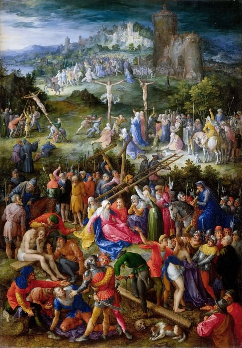 Calvary. Jan Brueghel The Elder