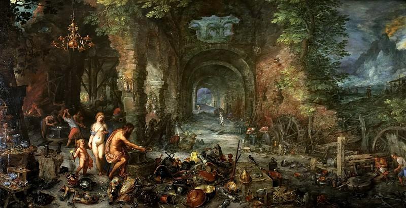 Fire. Jan Brueghel The Elder