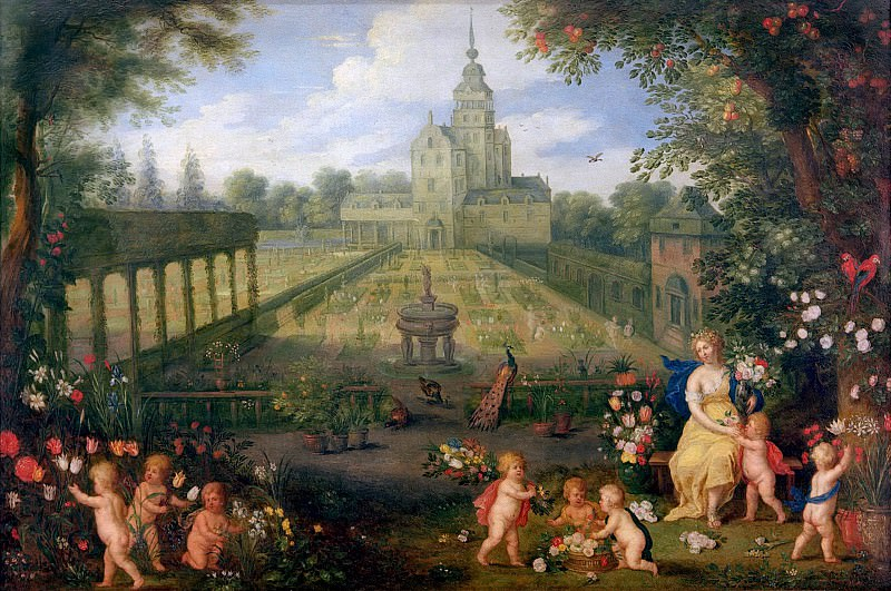 Flora. Jan Brueghel The Elder