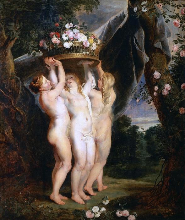 Three Graces. Jan Brueghel The Elder