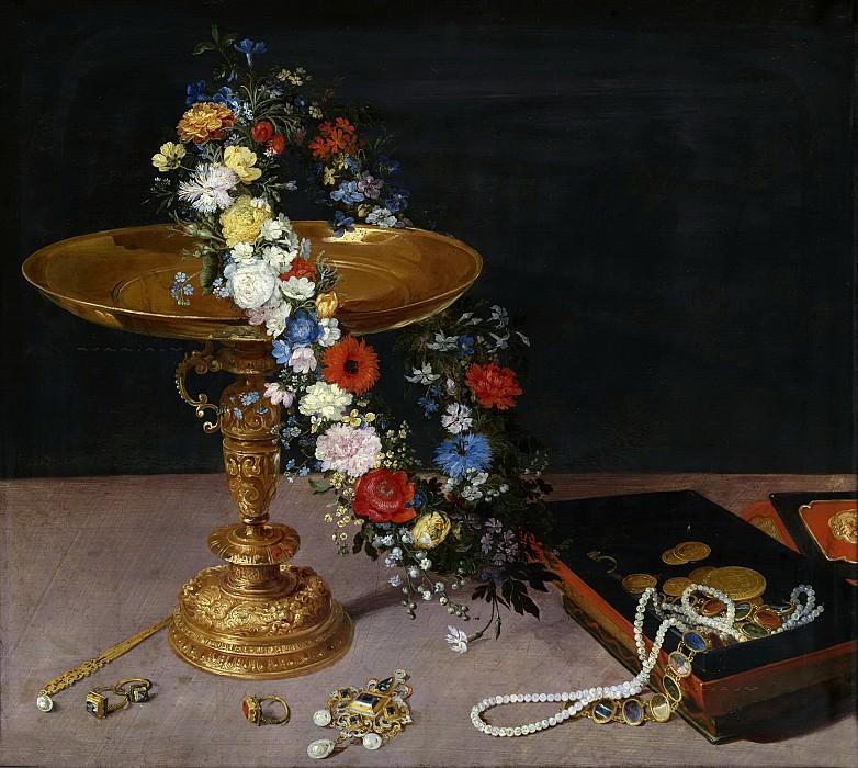 Натюрморт с цветочной гирляндой. Ян Брейгель Старший