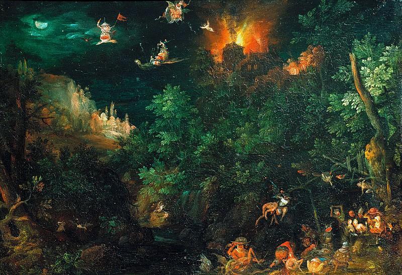 The Temptation of St. Antony. Jan Brueghel The Elder