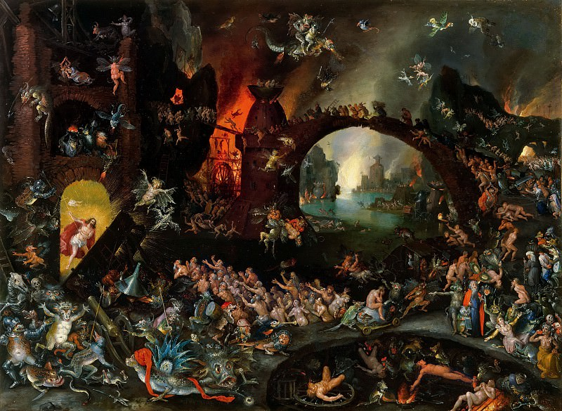 Christ in Limbo. Jan Brueghel The Elder