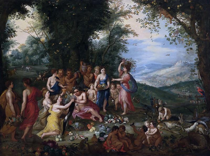 Allegory of autumn. Jan Brueghel The Elder