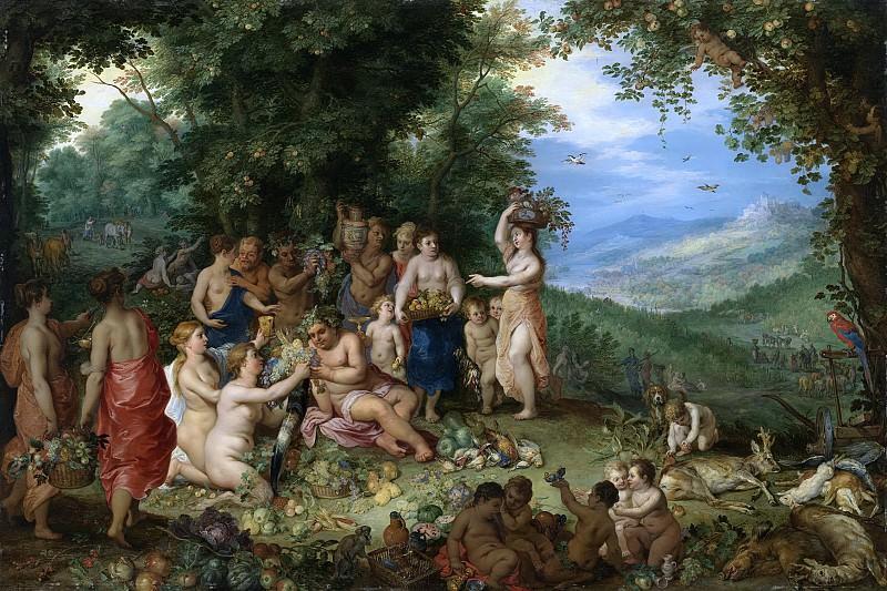 Autumn. Jan Brueghel The Elder