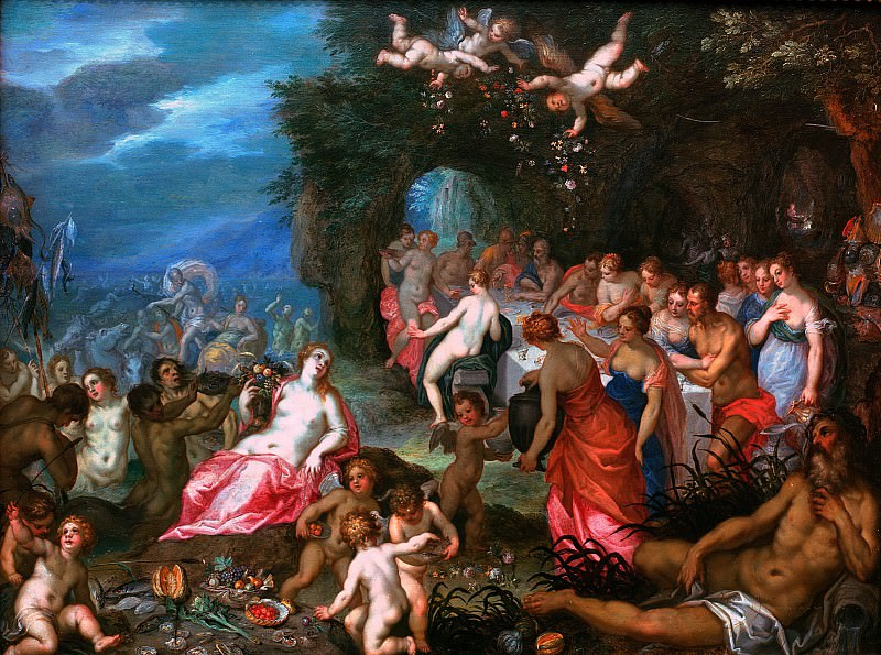 Feast of the Gods. Jan Brueghel The Elder