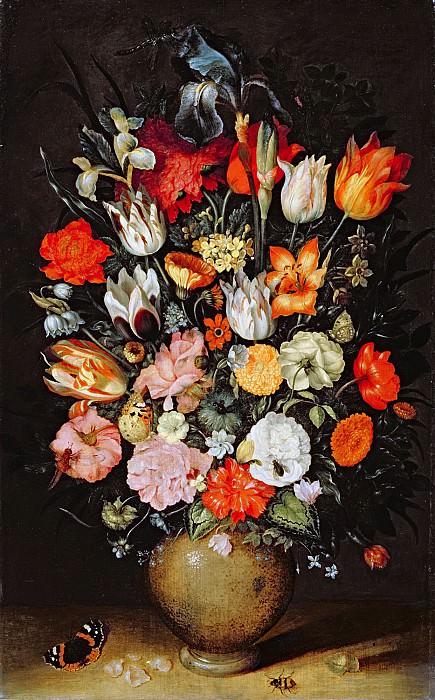 Vase of Flowers. Jan Brueghel The Elder