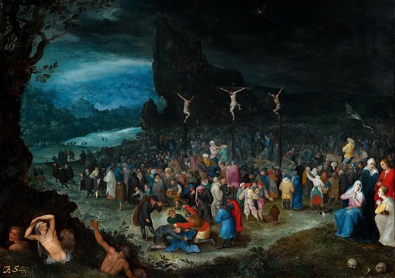 The Crucifixion. Jan Brueghel The Elder