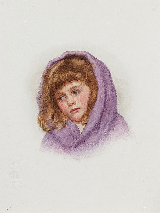 The purple shawl. George Lawrence Bulleid