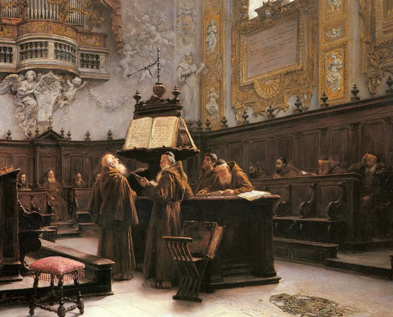 Reading The Choir Notes. Francesco Bergamini