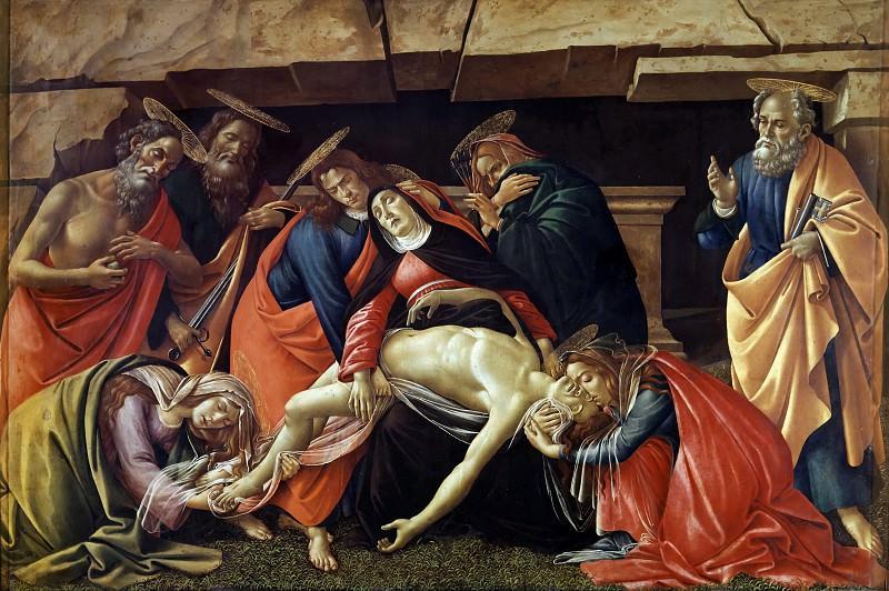 Оплакивание Христа. Сандро Боттичелли