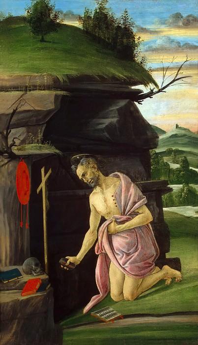Saint Jerome. Alessandro Botticelli