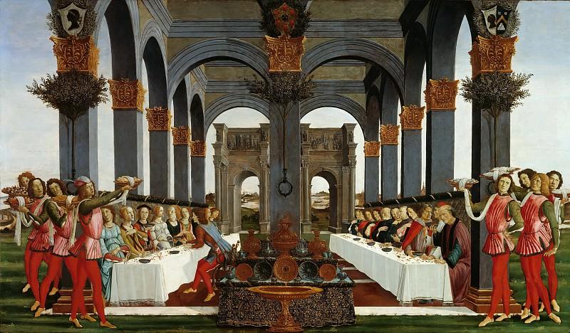 The Story of Nastagio degli Onesti IV. Alessandro Botticelli