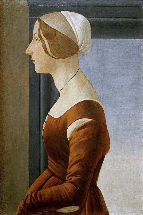 Портрет женщины. Сандро Боттичелли