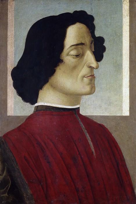 Portrait of Giuliano de Medici. Alessandro Botticelli