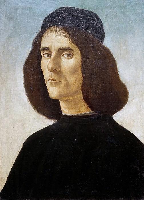 Portrait of a Man. Alessandro Botticelli