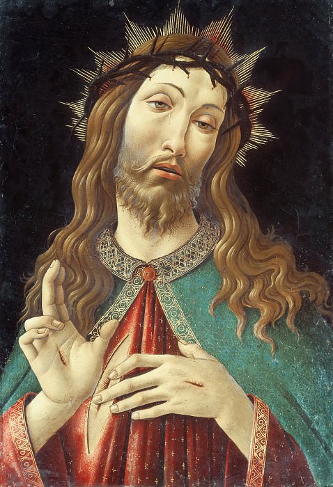 Christ Crowned with Thorns. Alessandro Botticelli
