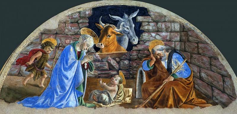 The Birth of Christ. Alessandro Botticelli
