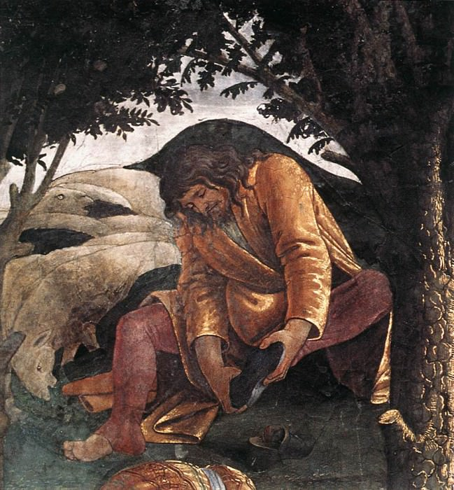 Scenes from the Life of Moses. Alessandro Botticelli