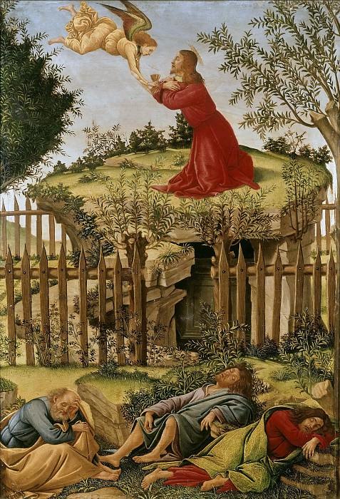 Agony in the Garden. Alessandro Botticelli