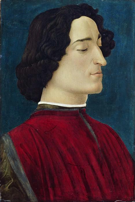 Giuliano de Medici. Alessandro Botticelli