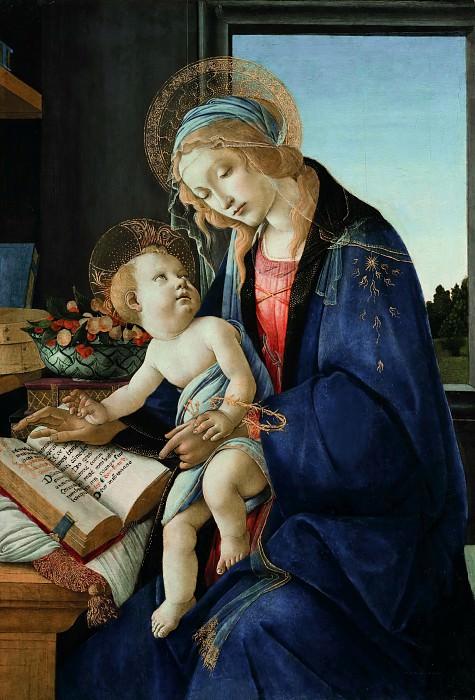 Мадонна с книгой. Сандро Боттичелли