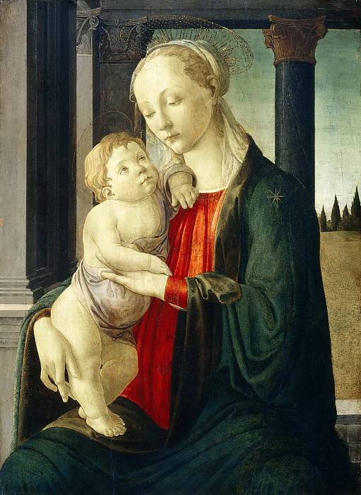 Madonna and Child. Alessandro Botticelli