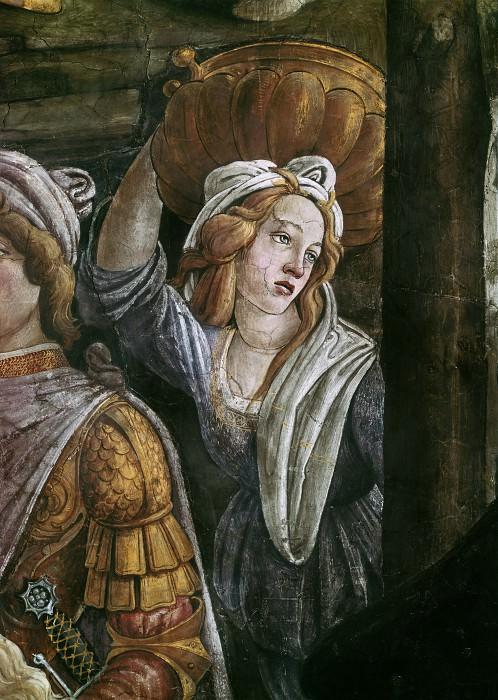 Сцены из жизни Моисея, фрагмент. Сандро Боттичелли