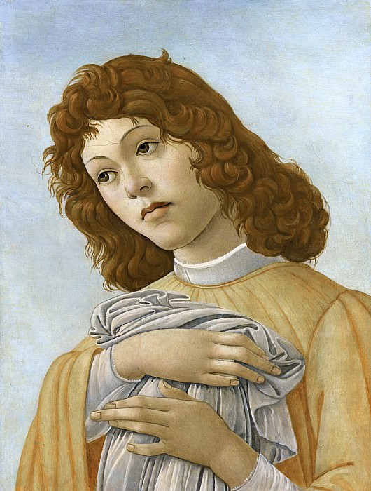 An Angel. Alessandro Botticelli