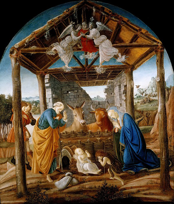 Nativity. Alessandro Botticelli