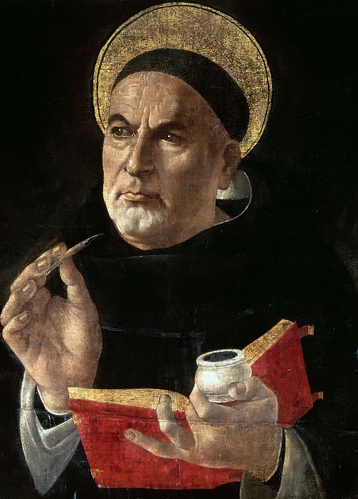 Thomas Aquinas. Alessandro Botticelli