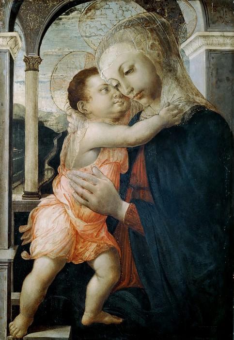 Madonna della Loggia. Alessandro Botticelli