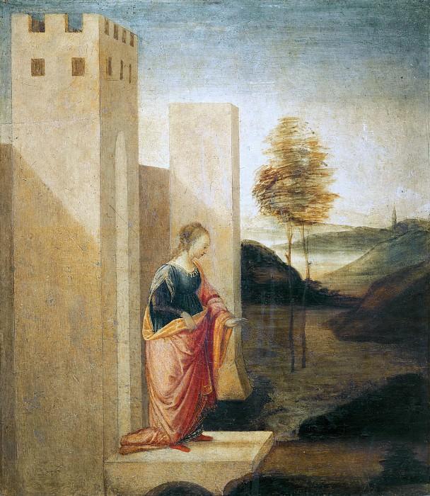 Queen Vasti Leaves the Kingdom of Susa. Alessandro Botticelli
