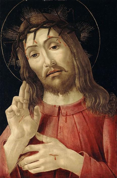 Воскресший Христос. Сандро Боттичелли
