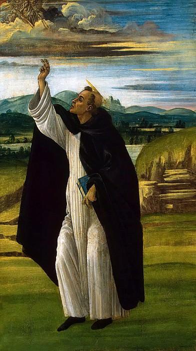 St. Dominic. Alessandro Botticelli