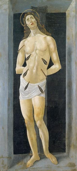 Saint Sebastian (school). Alessandro Botticelli