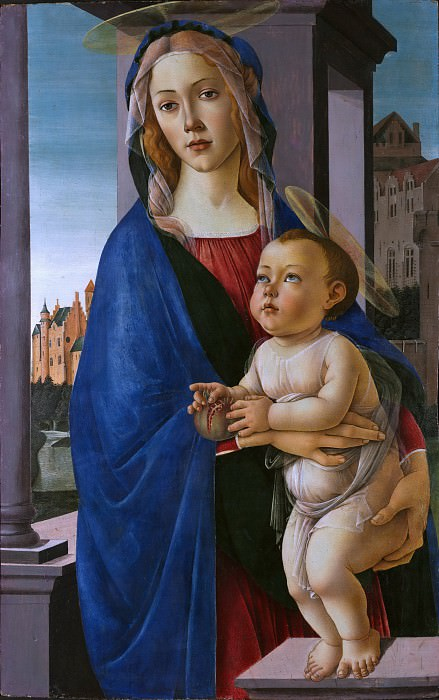 The Virgin and Child. Alessandro Botticelli