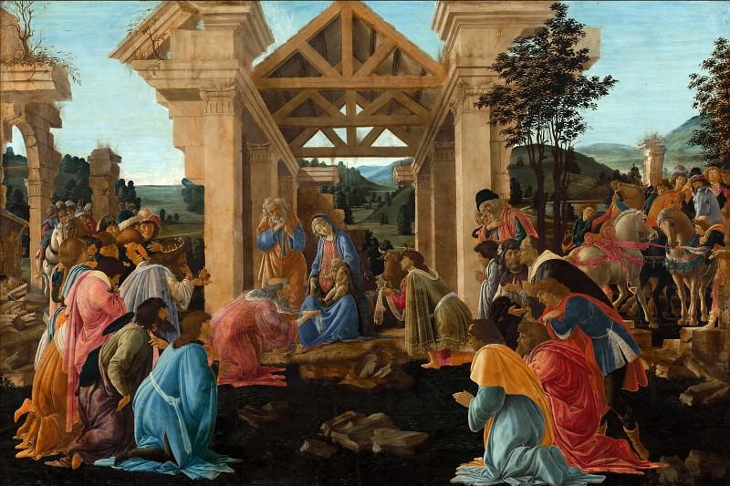 The Adoration of the Magi. Alessandro Botticelli