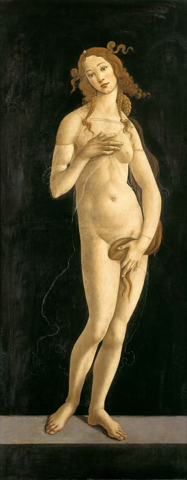 Venus Pudica. Alessandro Botticelli